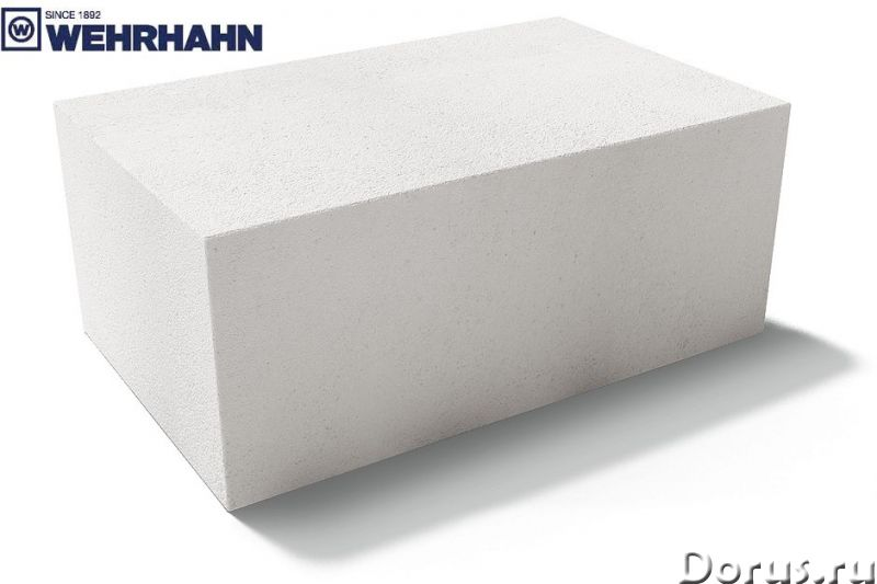 Блоки газосиликатные 1 категории Wehrhahn Старый Оскол - Материалы для строительства - Блоки газосил..., фото 3
